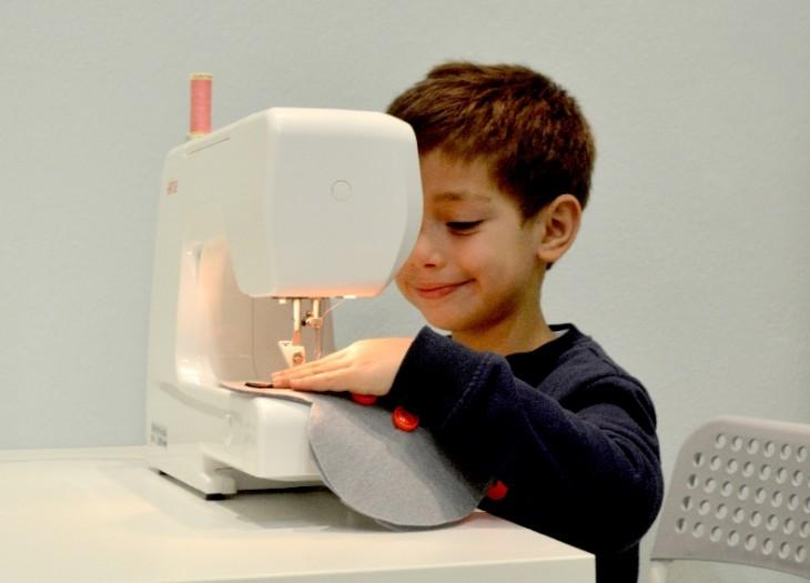 Cómo Enseñar A Coser A Un Niño Iii El Blog De Merceria Sarabia