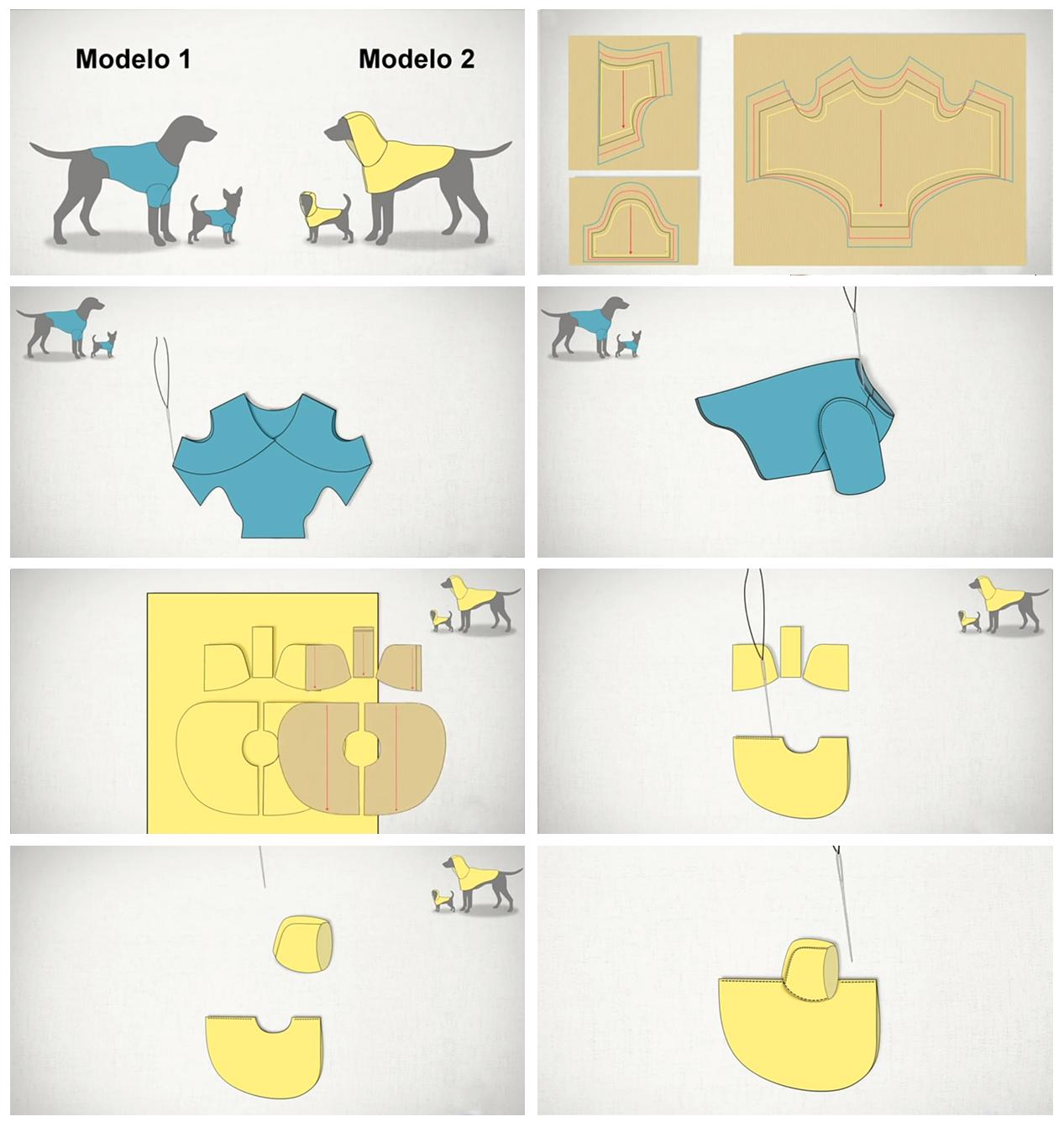 Ropa para perros única | El Blog de Merceria Sarabia
